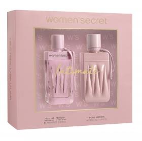 Estuche Woman Secret Intimate: Colonia 100 ml y Body Lotion 200 ml