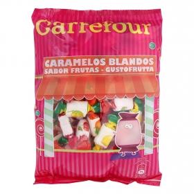 Caramelos de goma sabor fruta Carrefour 500 g.