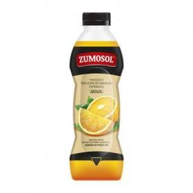 Zumo de naranja Zumosol exprimido sin pulpa botella 75 cl.