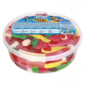 Caramelos de goma Mega Jelly Mix Vidal 400 g.