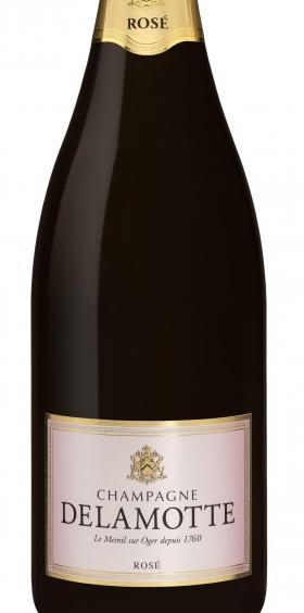 Delamotte Champagne Rosado