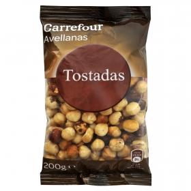 Avellanas tostadas Carrefour 200 g.