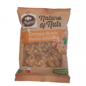 Nueces sin cáscara Carrefour 180 g.