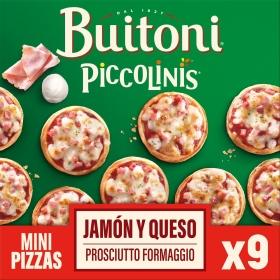 Piccolinis capricciosa Buitoni 270 g.