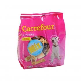 Carrefour Snacks Mix Galletas para Perro 550g