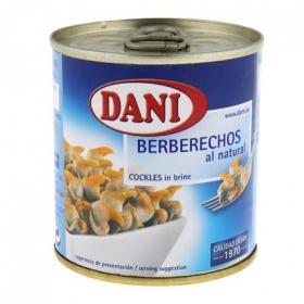 Berberechos al natural Dani 90 g.