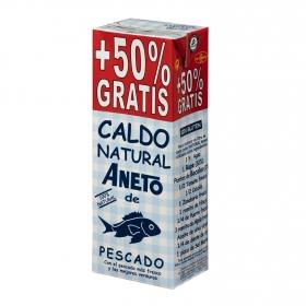Caldo natural de pescado Aneto sin gluten y sin lactosa 1 l.