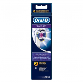 Cepillo dental eléctrico Pro Bright recambio Oral-B 2 ud.