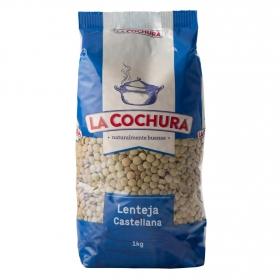 Lenteja castellana La Cochura 1 kg.