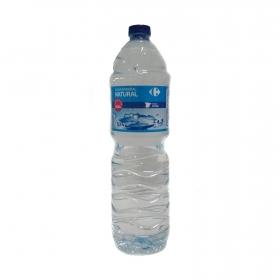 Agua mineral Carrefour natural 1,5 l.