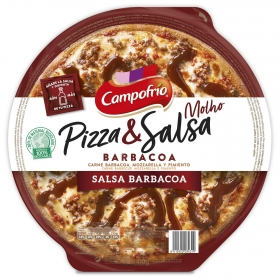 Pizza barbacoa Campofrío 400 g.