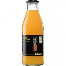 Zumo de piña ecológico Delizum botella 1 l.