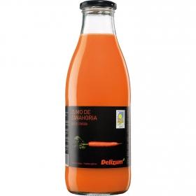 Zumo de zanahoria ecológico Delizum botella 1 l.