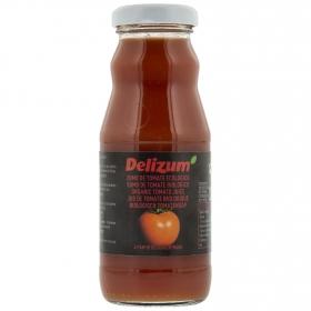 Zumo de tomate ecológico Delizum botella 20 cl.