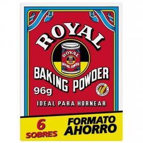 Levadura Royal pack de 6 sobres de 16 g.