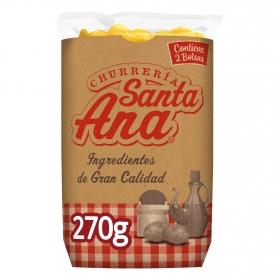 Patatas fritas churrería Santa Ana sin gluten pack de 2 bolsas de 135 g.