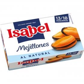 Mejillones de las rías gallegas al natural Isabel 69 g.