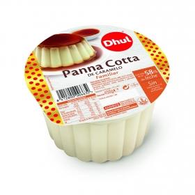 Panna Cotta de caramelo familiar Dhul sin gluten 450 g.