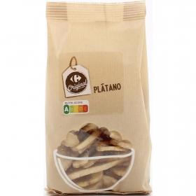 Plátano desecado Carrefour 90 g.