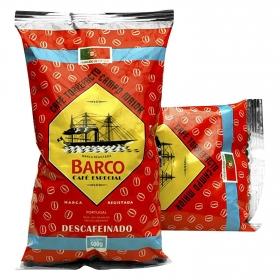 Café grano torrefacto descafeinado Barco 500 g.