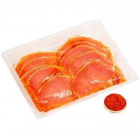 Filetes de lomo de cerdo adobado extra 400 g aprox