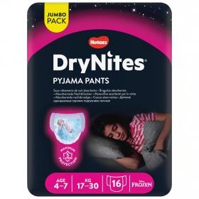 Braguitas Absorbentes DryNites® Niña Talla de 4 a 7 Años 13 uds