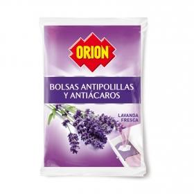 Bolas antipolillas perfume lavanda Orion 20 ud.