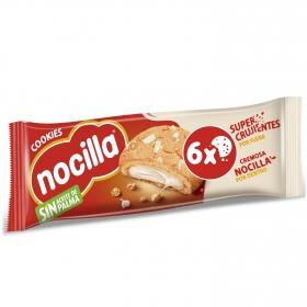 Galleta rellena con crema de leche Nocilla 120 g.