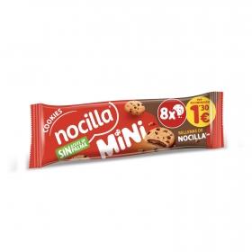 Galletas mini cookies rellenas con crema de cacao Nocilla sin aceite de palma 64 g.