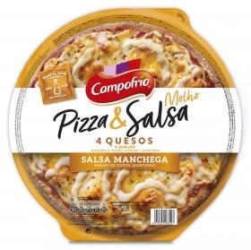 Pizza 4 quesos Campofrío 360 g.