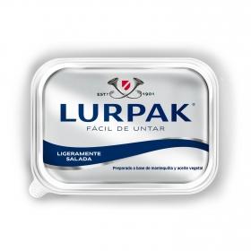 Mantequilla fácil de untar ligeramente salada Lurpak 250 g.