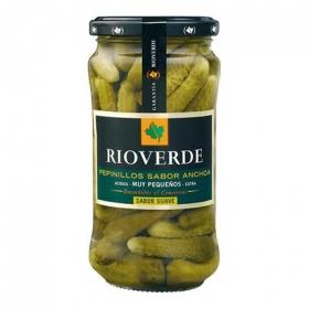 Pepinillos sabor anchoa Rioverde 180 g.