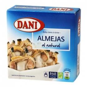 Almejas al natural Dani sin gluten 63 g.
