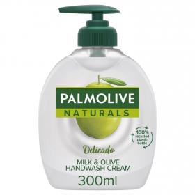 Jabón de manos de leche y oliva NB Palmolive 300 ml.