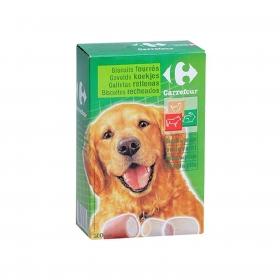 Carrefour Galletas Rellenas para Perro 500g