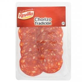 Chorizo tradición loncheado Revilla envase 100 g aprox