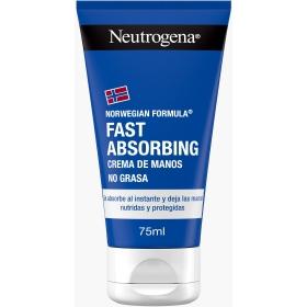 Crema de manos rapida absorcion Neutrogena 75 ml.