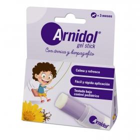 Gel stick de árnica y harpagophytum infantil Arnidol 15 ml.