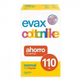 Protegeslip Cottonlike normal Evax 100 ud.