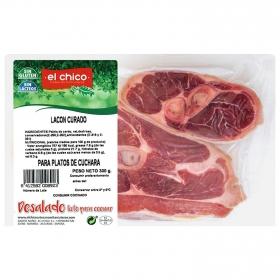 Lacón curado El Chico sin gluten y sin lactosa 300 g.