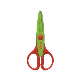 Tijera Creativa Zig-zag Verde 13cm
