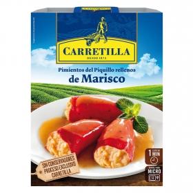 Pimiento del piquillo rellenos de marisco Carretilla 280 g.