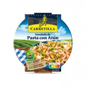 Ensalada de pasta con atún Carretilla 240 g.