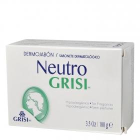 Dermojabón neutro hipoalérgico Grisi 100 g.