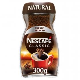 Café soluble natural classic Nescafé 300 g.