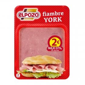 York sandwich El Pozo sin gluten 375 g.