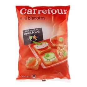 Biscottes mini Carrefour 350 g.