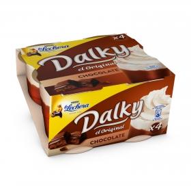 Copa de chocolate con nata Nestlé - La Lechera pack de 4 unidades de 100 g.