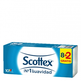 Pañuelos Scottex 10 ud.