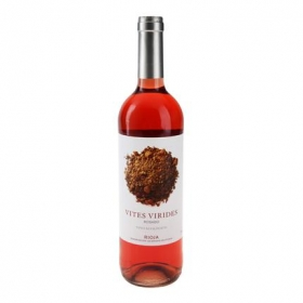 Vino D.O. Rioja rosado ecológico Vites Virides 75 cl.